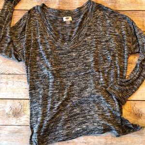 Grey Old Nave Long Sleeve Sweater XL